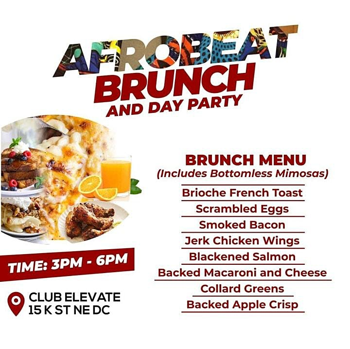AfroBrunch & DayParty- Games/Food/Drinks/Music image