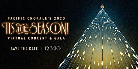 Tis the Season! Virtual Concert & Gala tickets
