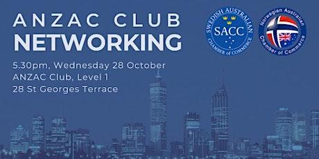 Perth Networking Drinks - ANZAC Club  - 26 November 2020 - 5.30PM tickets