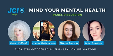 JCI Mayo presents Mind Your Mental Health tickets