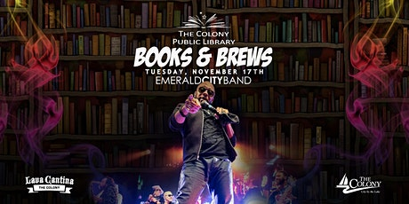 Books and Brews featuring Emerald City Band tickets