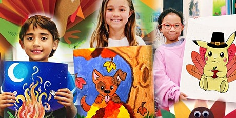 Thanksgiving Virtual Art Camp | November 23 - 29th| (Ages 5+) tickets