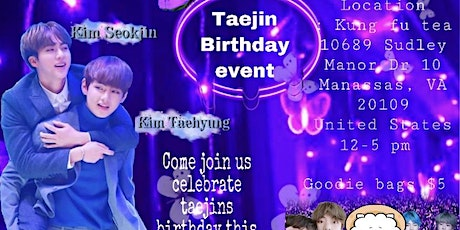 TaeJin Cupsleeve Event tickets