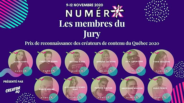 Image de Gala Créateur Web et Influenceur Québec 2020