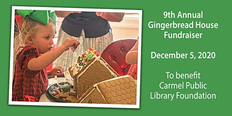 9th Annual Gingerbread Making Fundraiser! tickets
