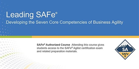 Leading SAFe 5.0 course tickets