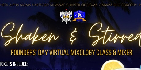 Shaken & Stirred Founders' Day Mixer tickets