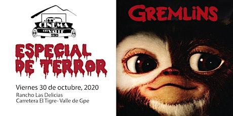 Cinema del Valle / Gremlins / 6:00 pm boletos