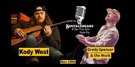 Kody West with Grady Spencer & The Work tickets