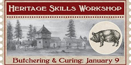 Heritage Skills Workshop: Butchering and Curing Workshop