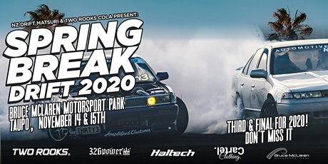 Spring Break NZ Drift Motorsport Festival 2020 tickets