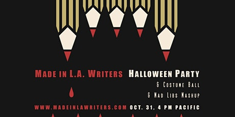 Made in L.A. Writers Halloween Party tickets
