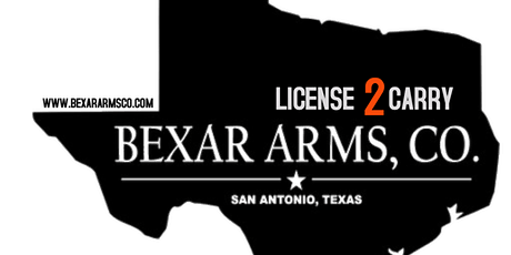 Bexar Arms License To Carry - Texas tickets