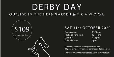 Derby Day @ Trawool (Herb Garden) tickets