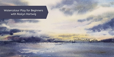 Watercolour Play for Beginners with Roslyn Hartwig (1 day) tickets