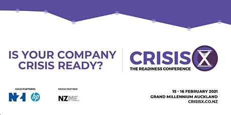 Crisis X: The Readiness Conference 2021 tickets