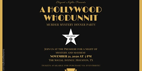 A Hollywood Whodunnit? Murder Mystery Party tickets