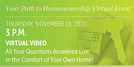 Home Ownership Virtual Event biglietti