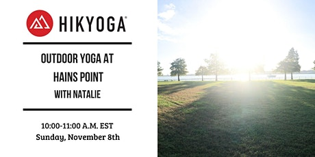Hains Point Outdoor Yoga with Hikyoga® DC tickets