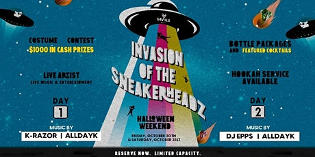Grails Halloween Party: Invasion of the Sneakerheadz tickets