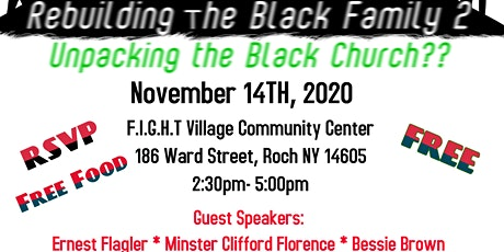 Rebuilding the Black Family: Unpacking the Black Church?? tickets
