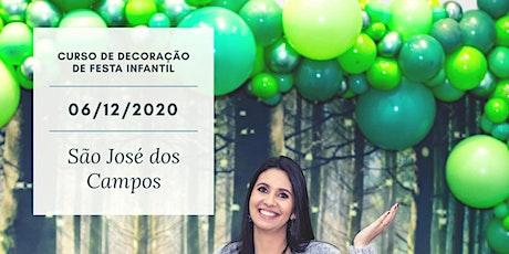 Curso Decoração Infantil Presencial - São José dos Campos ingressos