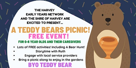 Harvey Early Year's Network TEDDY BEARS PICNIC tickets