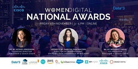 2020 National Women in Digital Awards tickets