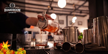 Boardroom Spirits - Flavors of the Fall tickets