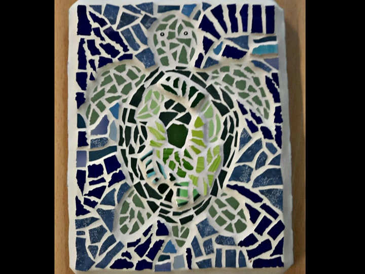 Mosaic Class for Adults at Hackney City Farm image