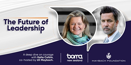 The Future of Leadership with Kaila Colbin and Uli Maybach tickets
