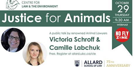 Public Virtual Lecture: Accessing Justice for Animals tickets