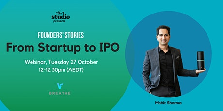 Founder Story: Mohit Sharma tickets