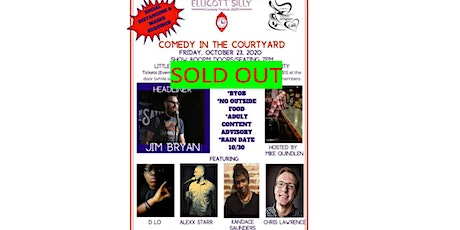 Ellicott Silly Comedy Festival presents Comedy in the Courtyard 2 tickets