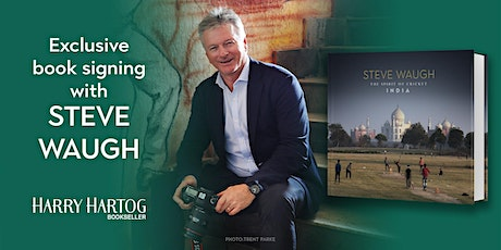 Exclusive Book Signing with Steve Waugh tickets