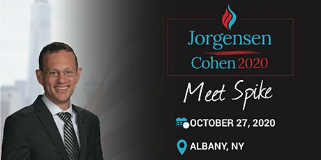 Meet the Candidate with Spike Cohen: Fundraiser, Albany NY tickets