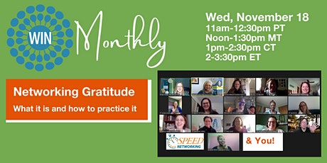Networking Gratitude: What is it? How can we practice it? tickets