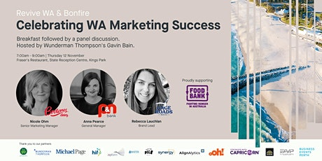 Celebrating WA Marketing Success tickets