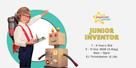 Jr. Inventor Holiday Camp tickets