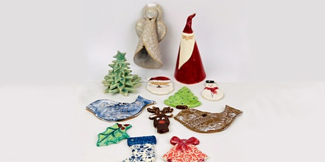 WORKSHOP | Ceramic Christmas decorations with Carys Martin tickets
