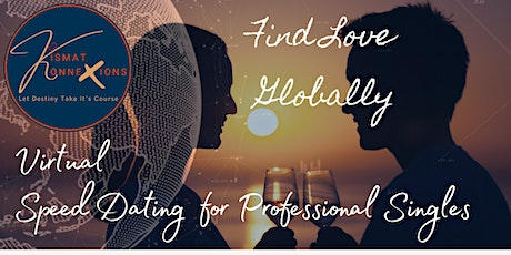 Global: Speed Dating for Single Professionals (Ages: 35-45) tickets