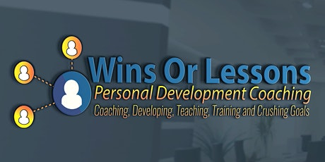 Wins or Lesson Free 1 on 1 Life Coaching Session tickets
