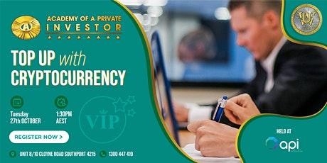 Top Up With Cryptocurrency WORKSHOP tickets