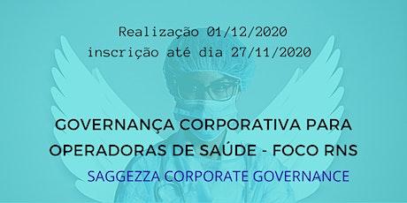 Governança C. Operadoras de Saúde - Foco nas RNs 443/19 , 451 e 451/20 ANS ingressos