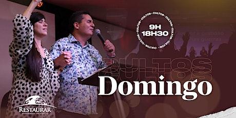 Culto Domingo às 9hs | 25/10/2020 ingressos