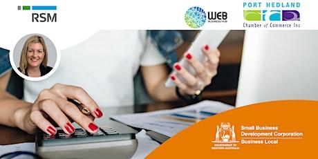 Bookkeeping Essentials (Port Hedland) tickets