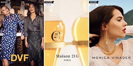 OnTheList Flash Sale - DVF, Monica Vinader, Maison 21G tickets