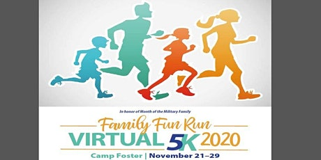 2020 Semper Fit and EFMP Month of the Military Family Virtual 5K tickets