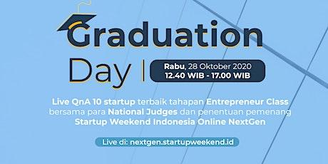 GRADUATION DAY - Startup Weekend Indonesia Online NextGen Tickets