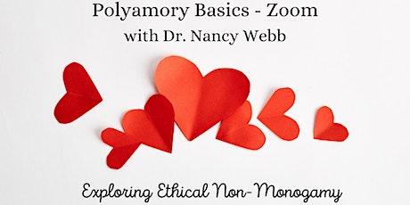 Polyamory Basics - Zoom with Dr. Nancy Webb tickets